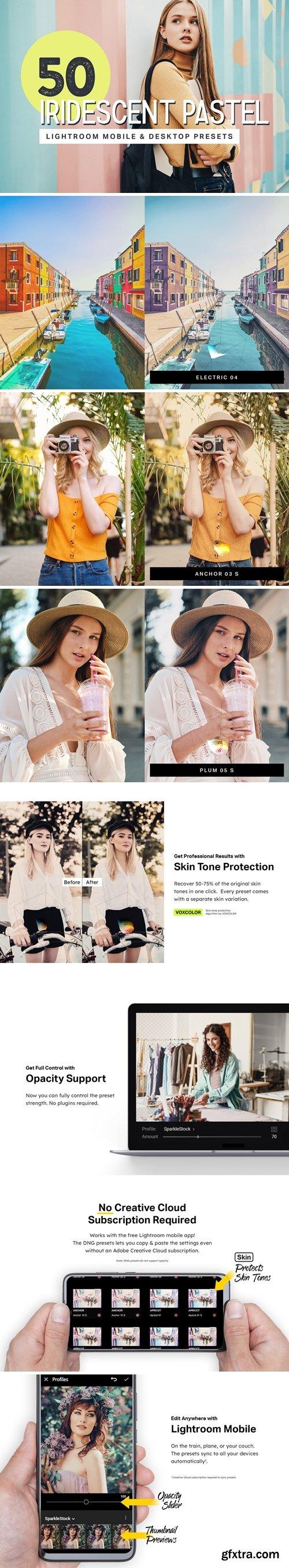 CM - 50 Pastel Lightroom Presets + LUTs 4343690