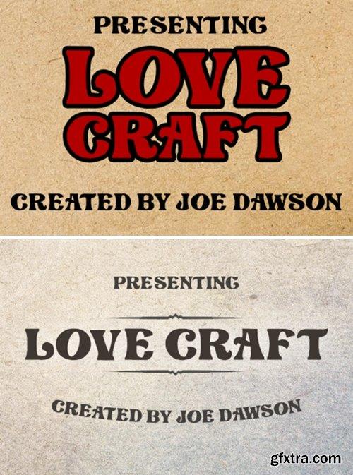 Love Craft Font