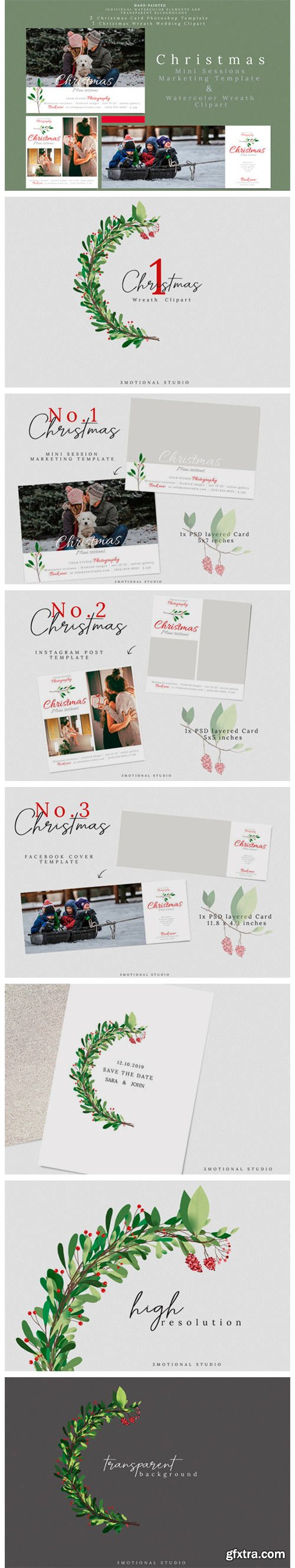 Holiday Mini Sessions Marketing Template 2217936
