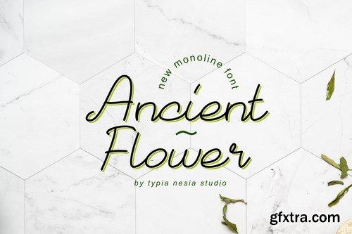 Ancient Flower Font