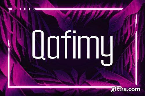 Qafimy Font