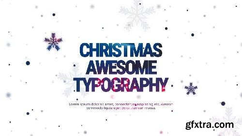 MotionArray Christmas Typography 337246