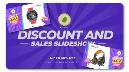 Videohive - Discount and Sales Slideshow