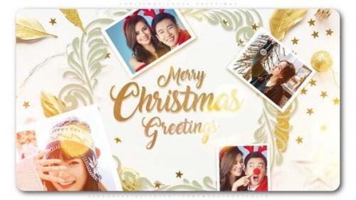 Videohive - Christmas Photo Greetings