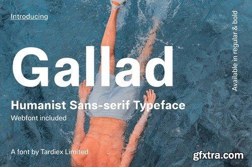 Gallad Font