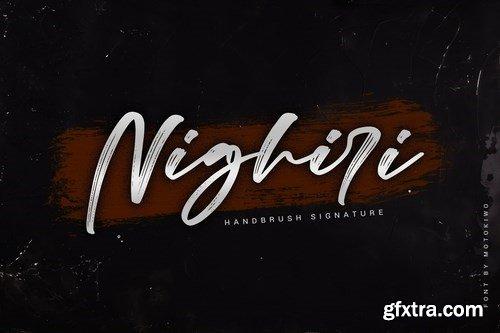 Nighiri - Handbrush Signature
