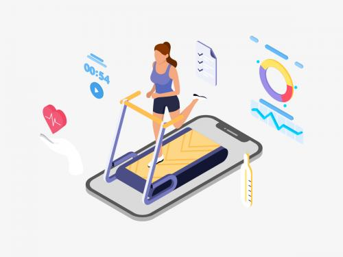ARVR Exercise And Sport Isometric Illustration - TU - arvr-exercise-and-sport-isometric-illustration-tu-ce6caba7-affd-4072-840b-5a4881759ed9