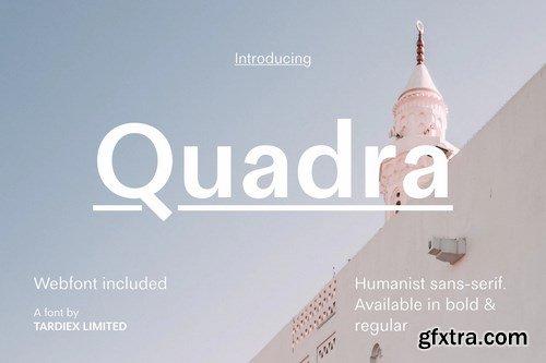 Quadra Sans-Serif + WebFont