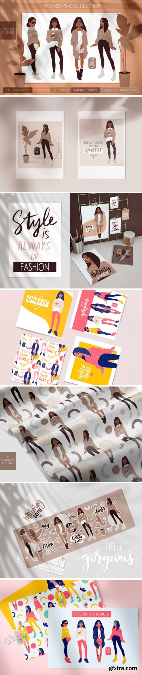 Women, Girls Fashion Illustration 2218965