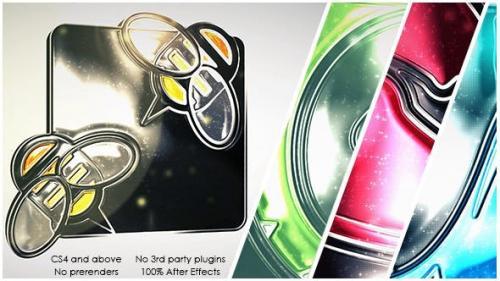 Videohive - Glossy Glitter Logo