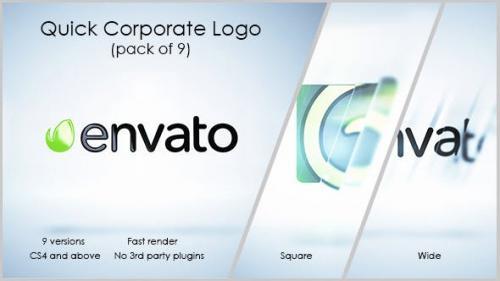 Videohive - Quick Corporate Logo