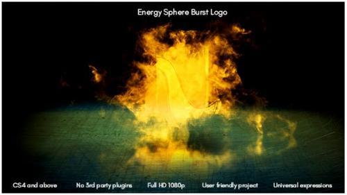Videohive - Energy Sphere Burst Logo