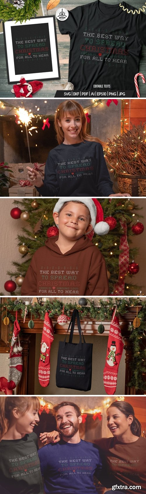 Fun Christmas Tshirt, Happy New Year, Xmas Design