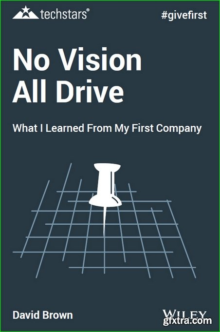 No Vision All Drive: What I Learned from My First Company (Techstars), 2nd Edition
