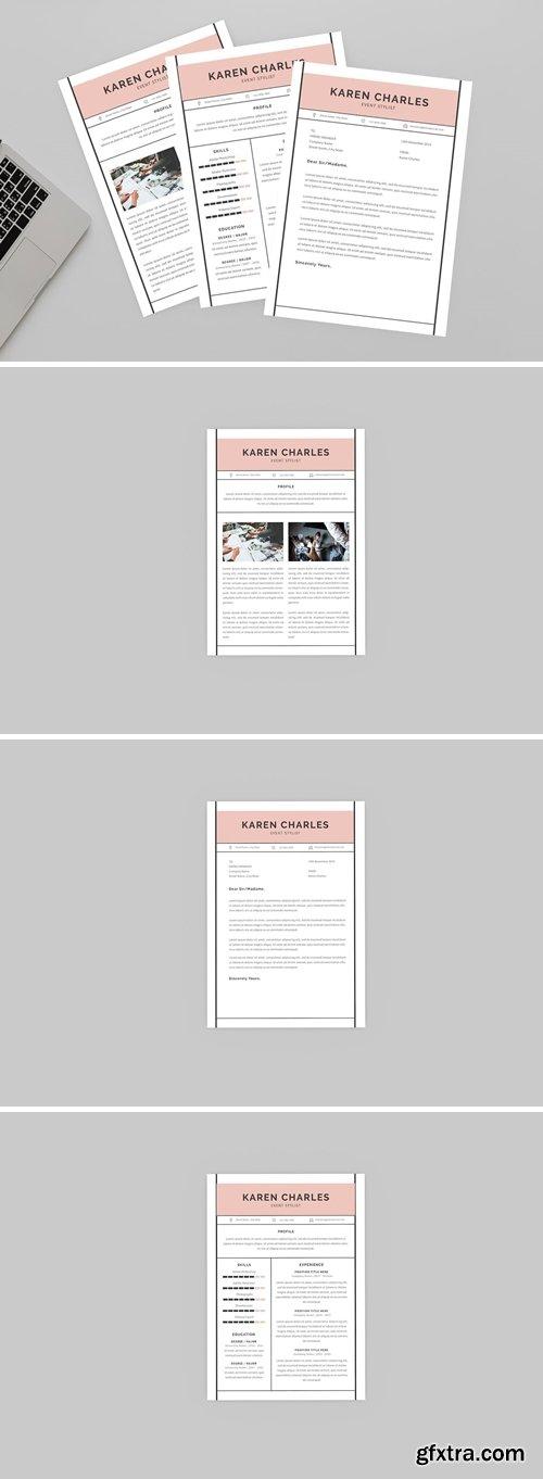 Event Stylist Resume Designer