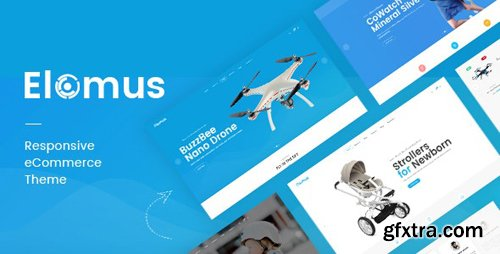 ThemeForest - Elomus v1.0 - Single Product Prestashop Theme - 25163979