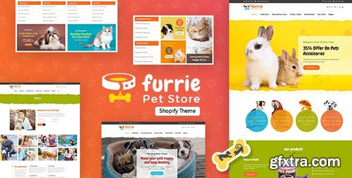 ThemeForest - Furrie v1.0 - Shopify Pet Store, Dog Care - 24062846