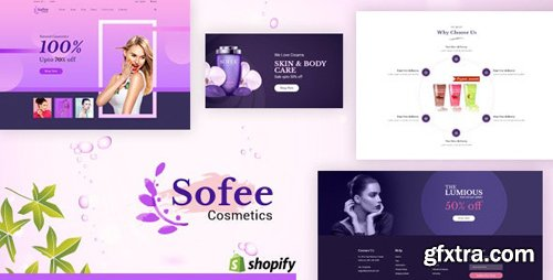 ThemeForest - Sofee v1.0 - Beauty Cosmetics Shopify Store - 24716134