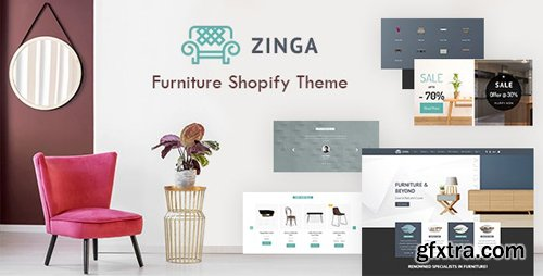 ThemeForest - Zinga v1.0 - Shopify Furniture, Interior Store - 23621638