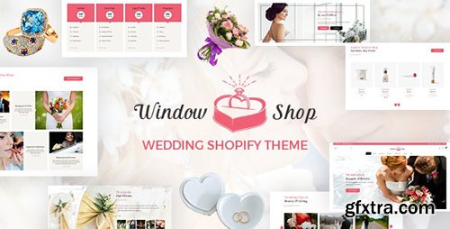 ThemeForest - Window Shop v1.0 - Wedding Shopify Store - 21161927