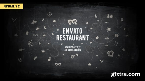 Videohive Envato Restaurant/ Cafe Promo/ Modern Bar Menu/ Fast Food/ Vegetarian Dish/ Meal Delivery/ Lunchroom 2456792