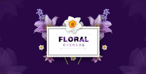 Videohive - Floral Openers/ Live Flovers Wedding Titles/ Love Memories/ Spring Mood/ Beauty Bloggers Instagram