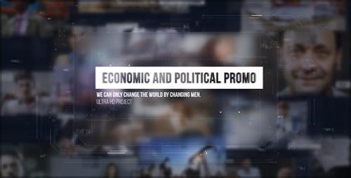 Videohive - Economic and Political Promo/ Digital HUD Slide/ Sci-fi Technology/ Business Presentations/ Images