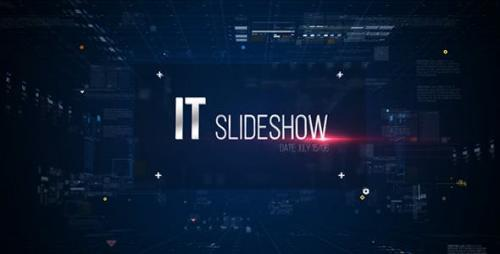 Videohive - IT Slideshow/ Digital HUD Slide/ Interface Placeholders/ Sci-fi Technology/ Business Presentations