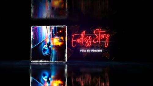 Videohive - Endless Story Stylish Slideshow / Youtube Travel Blog/ Digital Slide/ Bright Presentation/ Art Promo