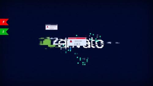 Videohive - Modern Glitch Logo/ Stylish Youtube Opener/ Interface Error/ Ultimate Shape Hud UI Techno Blog Intro