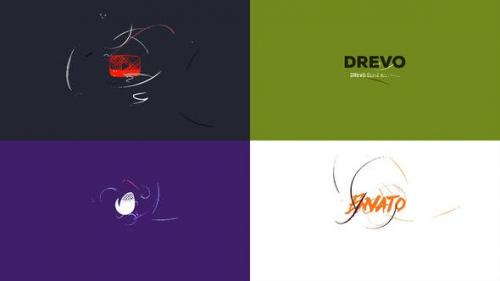 Videohive - Simple Art Logo Reveal/ Flat Minimal Intro/ Brush Animation/ Clean Drawing Openers/ Youtube Blogger