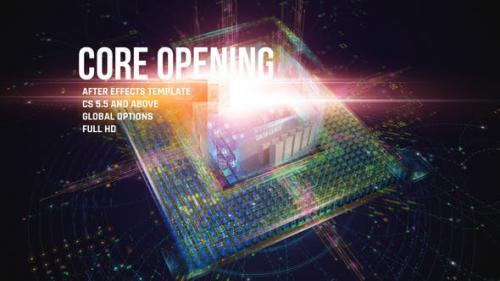 Videohive - CORE Opening/ Corporate IT Logo Reveal/ HUD and UI/ Game and APP/ Cubes and Lights/ Hi-Tech Intro