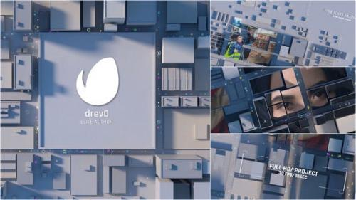 Videohive - City Opening/ Town Intro/ 3D Roof of the Building/ Social Dramatic Logo Reveal/ Economics & Politics