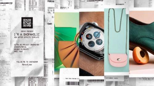 Videohive - I`m a Shopaholic/ IGTV/ Black Friday Super Sale/ Commercial Promo/ Market/ Online Shop/ Social Medi