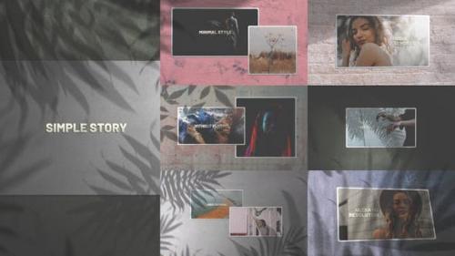 Videohive - Simple Story/ Minimal Slides/ Clean Slideshow/ Travel Cinematic Opener/ Lovely Slideshow/ Art Shadow