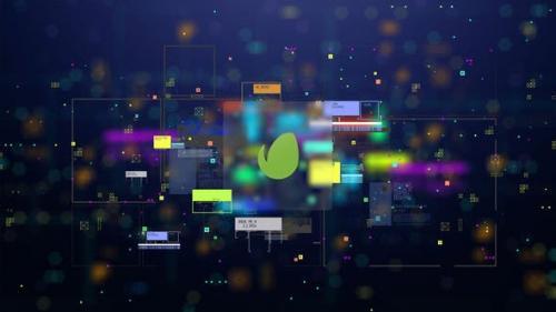 Videohive - Hi-Tech Logo Reveal