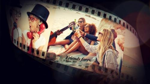 Videohive - Funky Film Strip