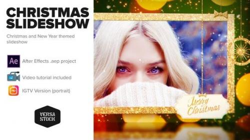 Videohive - Merry Christmas and a Happy New Year Slideshow