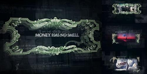 Videohive - Money Has No Smell/ Dollars Rule The World/ Banknotes and Bonds/ Business/ Economics/ Corporate/ $