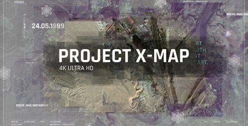 Videohive - Project X MAP / Technology Paralax Slideshow / 3D Camera / Clean Travel Memories / Satellite Photo
