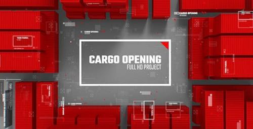 Videohive - Cargo Opening/ Transportation of Parcels/ Post and Сontainer/ Corporate Logo
