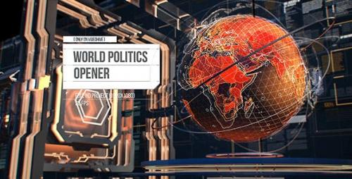 Videohive - World Politics News Openers/ Business and Technology Intro/ Political and Digital World Ears Openers