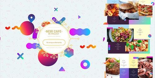 Videohive - Cafe/ Restaurant Promo/ Modern Bar Menu/ Fast Food/ Vegetarian Dish/ Meal Delivery/ Insta Lunchroom