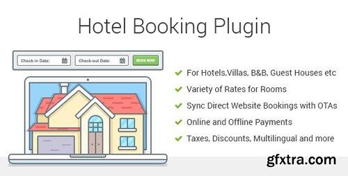 CodeCanyon - Hotel Booking v3.7.1 - WordPress Plugin - MotoPress Hotel Booking - 19603111