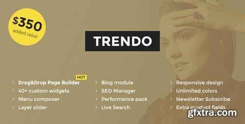 ThemeForest - Trendo v1.1.2 - Minimalistic Fashion Store OpenCart Theme - 18254877