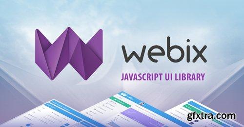 Webix v7.0.1 - JavaScript UI library And Framework For Speeding Up Web Development - NULLED