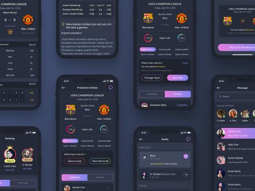 Bettor App UI KIT - bettor-app-ui-kit