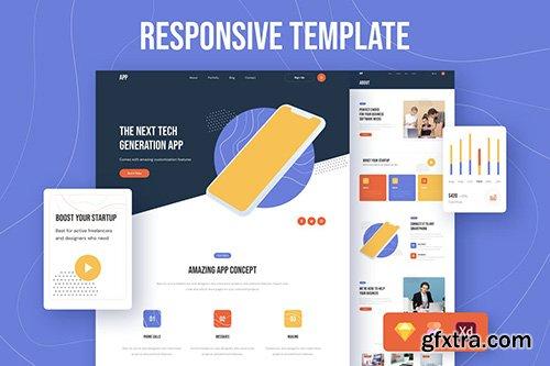 App Responsive Template