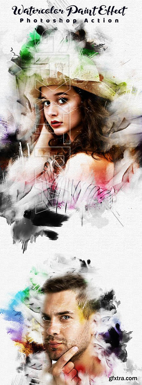 GraphicRiver - Watercolor Paint Effect 25052991