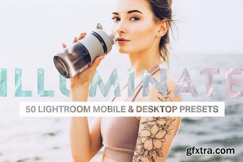 CM - 50 Illuminate Lightroom Presets LUTs 4376598